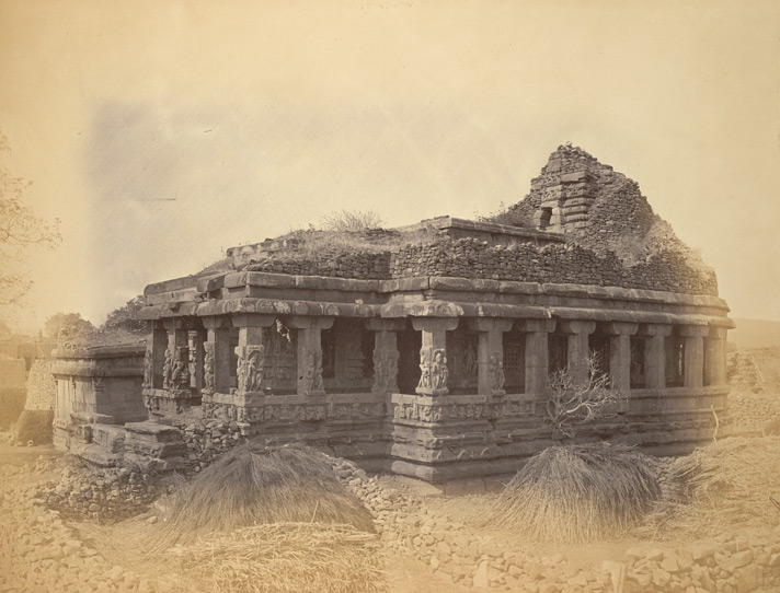 General view from the north-east of the Durga (Vaishnava) Temple, Aihole, Bijapur District